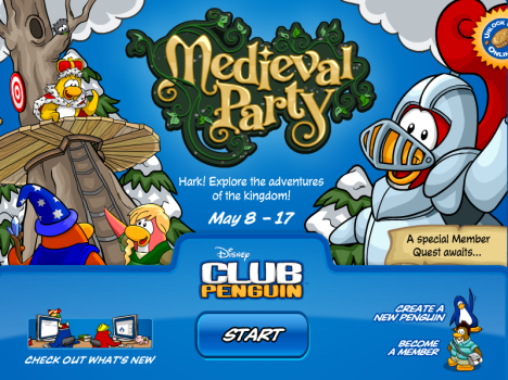 medival-party-log-in-screen